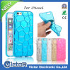 3D Water magro Cube Colorful Lighting Flash TPU Caso para iPhone6