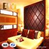 El panel de pared de cuero decorativo 3D de Microfiber de la Moho-Prueba