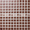 25X25mm Heavy Crackle Brown Glazed Creamic Mosaic Tile (BCI901)