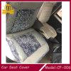 Amortiguador de asiento de coche de la piel de la PU del bordado del masaje