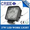 Luz del trabajo del cuadrado 27W LED del vehículo de Jgl 4X4