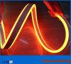 옥외를 위한 고품질 24V 두 배 옆 오렌지 LED 네온 유연한 지구