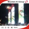 フルカラーの円柱屋外P10円形広告LED表示