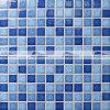 azulejo de mosaico de cerámica de la piscina de la mezcla azul de 23X23m m (BCH002)