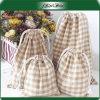 Zeichen gedruckt, Geschenk-vorzüglichen Baumwollsegeltuch-Schmucksache-Beutel bekanntmachend