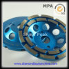 Epoxy Resin Floor를 위한 다이아몬드 Double Row Grinding Cup Wheel