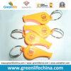 Anillo plástico al aire libre de encargo promocional de los regalos W/Key del silbido conectado