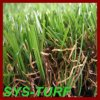 Filato riccio scuro del Brown che modific il terrenoare erba