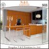 N u. L moderner Luxuxpantry-festes Holz-Küche-Schrank für Nordamerika