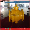 Cast flangeado Steel Trunnion Ball Valve com Handle