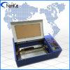 Mini macchina per incidere del taglio del laser di CNC Cco2