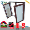 Окно высокия уровня безопасности UPVC Tilt&Turn двойное застекленное