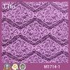 Tela hermosa del cordón de la impresión del diamante (M1714-1)
