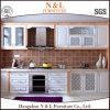 N et L Module de cuisine blanc de porte de dispositif trembleur en bois solide