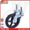 10 Inch-schwarzes Gummischwenker-Gestell-Fußrollen-Rad
