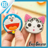 3D PVC engraçado Doraemon e Numbers Rubber Fridge Magnet