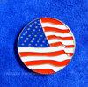 Отметка шара для игры в гольф изготовленный на заказ флага Америка круговая (GBM-13)