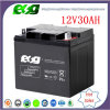 Tipo batería de plomo del mantenimiento del gel solar del AGM de la UPS 12V30ah