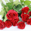 Rote künstliche Rose