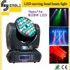 36PCS RGBW Mini DMX Moving LED Beam Light