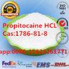 HCl CAS van Propitocaine van de Drugs van het Verdovingsmiddel van het Waterstofchloride van Propitocaine Lokale: 1786-81-8;