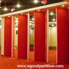 Particiones móviles de la pared de la partición del hotel de la partición de la pared plegable temporal movible movible del sistema
