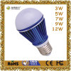 12W Ce Certificated LED Bulb van Aluminum en van Plastic E27 Base