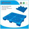 1100 * 1100 * 140mm Grandes nueve pies pesada cubierta de plástico de paletas Rackable