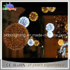 ホテルの装飾的なハングの花輪の球のクリスマスの照明
