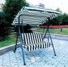 Présidence en aluminium d'oscillation de rotin de PE de jardin de patio pour extérieur