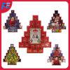 Decoración de Navidad del calendario del advenimiento del árbol de navidad