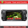 Reproductor de DVD del coche para el reproductor de DVD de Pure Android 4.4 Car con A9 CPU Capacitive Touch Screen GPS Bluetooth para la ciudad y el país (AD-6208) de Chrysler
