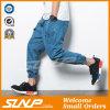 Оптовое тяжелое дыхание джинсыов хлопка джинсовой ткани Jogger износа людей