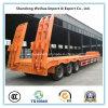 De 3 essieux de Lowbed remorque avancée semi de fournisseur de la Chine