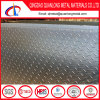 Piatto Checkered di alluminio dell'impronta del piatto delle 5 barre per la pavimentazione