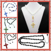 Ожерелье Shamballa ювелирных изделий способа перекрестное