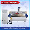 Hölzerne Gravierfräsmaschine Jinan-blaue Elefant CNC-1530, 3D hölzerne schnitzende Maschine für Schränke, Tür