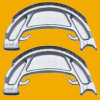 Moto Brake Shoe, Motorcycle Brake Shoe para Motorcycle Parte