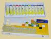 12ml*12 de Verf van de kleur voor het Acryl Schilderen wordt geplaatst die
