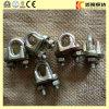 Type de la couleur U de ruban clips malléables de câble métallique DIN741 de prix bas dans le calage