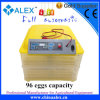 صغيرة قدرة [220ف] و [12ف] آليّة 96 بيضة محضن