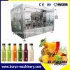 Jus automatique avec la machine de conditionnement de mise en bouteilles de boissons de l'eau de remplissage de bouteilles chaud d'animal familier