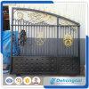 Porta de deslizamento principal galvanizada decoração da casa do ferro feito/porta deslizante de aço da entrada de automóveis/porta da entrada