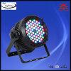 54PCS3w RGBW는 급상승 디스코 DMX LED 동위 단계 빛을 방수 처리한다