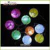 decoración multicolora del partido de la luz de hadas de la secuencia de la linterna de papel 3