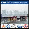 Cimc la qualité de Huajun Double-Jalonnent la semi-remorque de cargaison