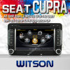 폭스바겐 Scirocco (2008-2011년) /Transporter (T5) (2010-2011년)를 위한 Witson Car DVD /Caddy (2004-2012년) /Amarok (2010-2011년) /Seat Leon, Cupra (2005-2010년) (W2-C004)