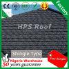 Feuille enduite de toiture d'envergure de tuile de toiture en métal de construction de température élevée de pierre résistante de matériau longue