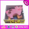 Jouet animal en bois de 2014 nouveaux chevreaux mini, jouet animal en bois d'enfants mignons de Popualr mini, jouet animal en bois W13e030 réglé de beau bébé mini