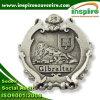 Distintivo placcato stagno personalizzato per il servizio della Gibilterra (B 624)